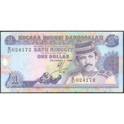 Brunei 1 Ringgit PK 13b (1.994) S/C