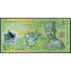 Brunei 5 Ringgit PK 36 (2.011) UNC