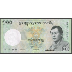Bután 100 Ngultrum PK 32b (2.011) S/C