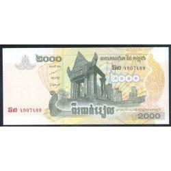 Camboya 2.000 Riels Pk 59 (2.007) S/C