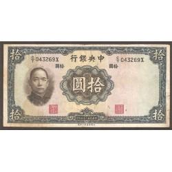 China 10 Yuan Pk 218d (1.936) MBC