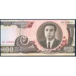 Corea del Norte 100 Won PK 43 (1.992) S/C