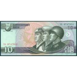 Corea del Norte 10 Won Pk 59 (2.009) S/C