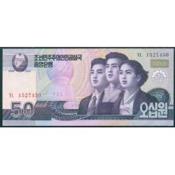 Corea del Norte 50 Won Pk 60 (2.002/2.009) S/C