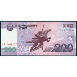 Corea del Norte 200 Won Pk 62 (2.009) S/C