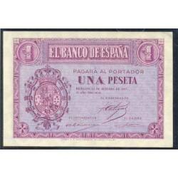 1 Peseta 1937 Burgos. S/C- Serie C