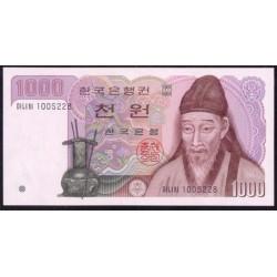 Corea del Sur 1.000 Won Pk 47 (1.983) S/C