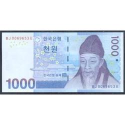 Corea del Sur 1.000 Won Pk 54 (2.007) S/C
