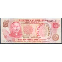 Filipinas 50 Piso PK 156a (1.970) S/C
