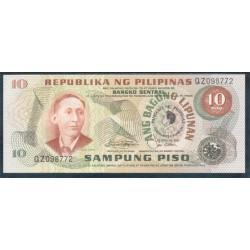 Filipinas 10 Piso PK 167a (1.981) S/C