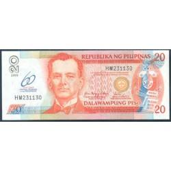 Filipinas 20 Piso PK 200 (2.009) S/C