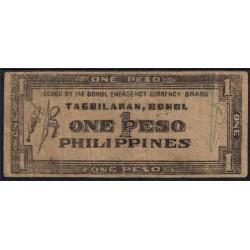 Filipinas 1 Peso PK S 135e (1.942) BC