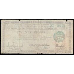 Filipinas 20 Pesos PK S 664 (1.943) RC