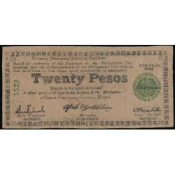 Filipinas 20 Pesos PK S 680 (1.944) RC
