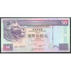 Hong Kong 50 Dólares PK 202e (1-6-2.002) S/C