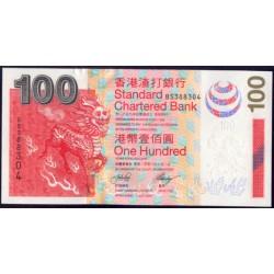 Hong Kong 100 Dólares PK 293 (1-7-2.003) S/C