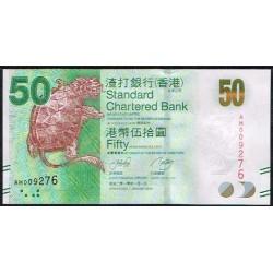 Hong Kong 50 Dólares PK 298 (1-1-2.010) S/C