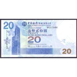 Hong Kong 20 Dólares PK 335 (1-7-2.003) S/C