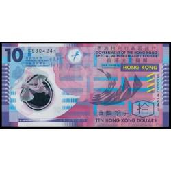 Hong Kong 10 Dólares PK 401c (1-1-2.012) S/C