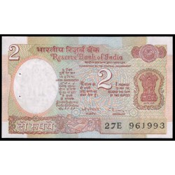 India 2 Rupias PK 79m (1976) S/C