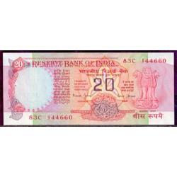 India 20 Rupias PK 82k (1.997) S/C