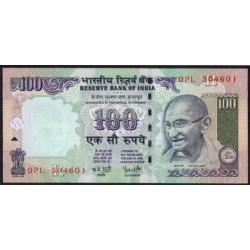 India 100 Rupias PK 98c (2.007) S/C