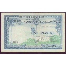 Indochina Francesa 1 Piastra PK 105 (1.954) MBC+