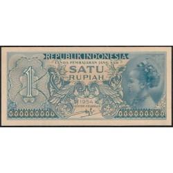 Indonesia 1 Rupia PK 72 (1.954) S/C