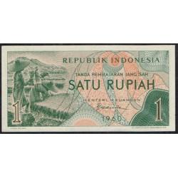 Indonesia 1 Rupia PK 76 (1.960) S/C