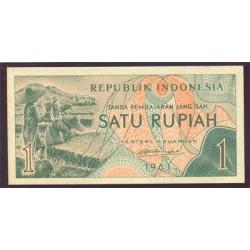 Indonesia 1 Rupia PK 78 (1.961) S/C