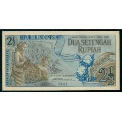 Indonesia 2,5 Rupias PK 79 (1.961) S/C
