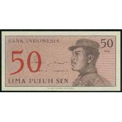 Indonesia 50 Sen PK 94 (1964) S/C