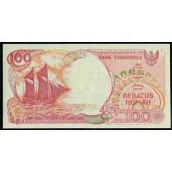 Indonesia 100 Rupias PK 127 (1992) S/C
