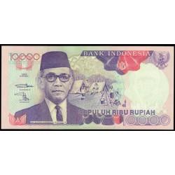 Indonesia 10.000 Rupias PK 131g (1.992/1,997) S/C
