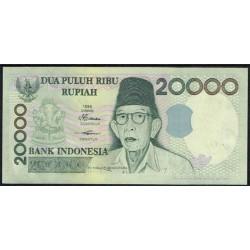 Indonesia 20.000 Rupias PK 138a (1.998) S/C