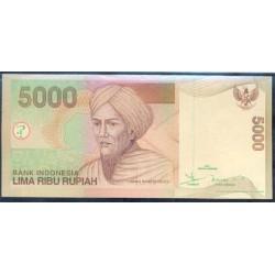 Indonesia 5.000 Rupias PK 142a (2.001) S/C