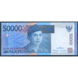 Indonesia 50.000 Rupias PK 145 (2.005) S/C