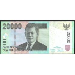 Indonesia 20.000 Rupias PK 151b (2.012) S/C