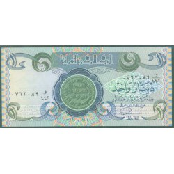 Iraq 1 Dinar PK 69 (1.979-84) S/C