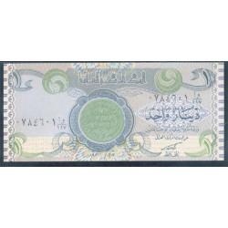 Iraq 1 Dinar PK 79 (1.992 S/C