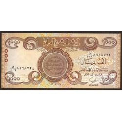 Iraq 1.000 Dinares PK 99 (2.013) S/C