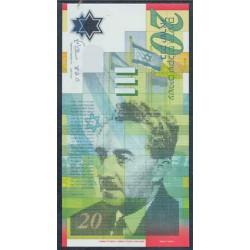 Israel 20 N. Sheqalim PK 64 (2.008) S/C