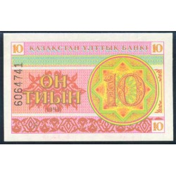 Kazajistán 10 Tyin PK 4 (1.993) S/C