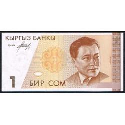Kirguisistán 1 Som PK 7 (1.994) S/C