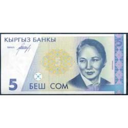Kirguisistán 5 Som PK 8 (1.994) S/C
