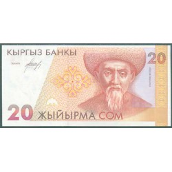 Kirguisistán 20 Som PK 10 (1.994) S/C