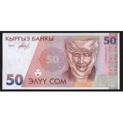 Kirguisistán 50 Som PK 11 (1.994) S/C
