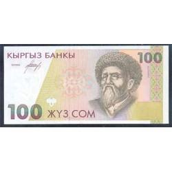 Kirguisistán 100 Som PK 12 (1.994) S/C