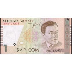 Kirguisistán 1 Som PK 15 (1.999) S/C
