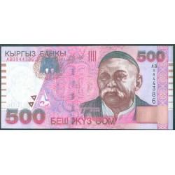 Kirguisistán 500 Som PK 17 (2.000) S/C